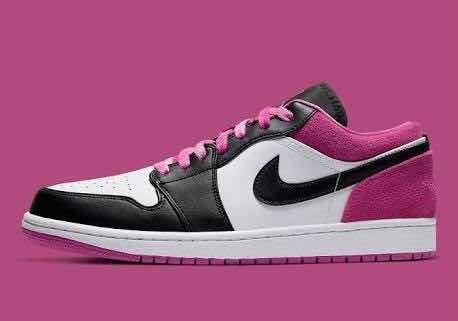 Tenis Nike Jordan1 Low Fuchsia