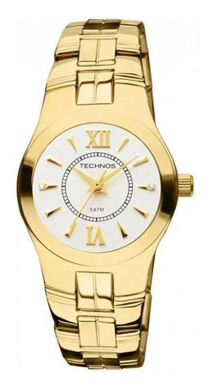 Relógio Technos Dourado Gl30ci/4k
