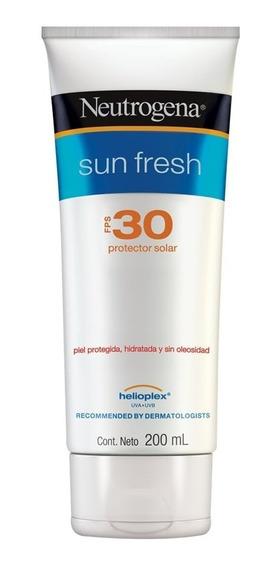 Neutrogena Protector Solar Sun Fresh Crema Fps 30 X 200ml