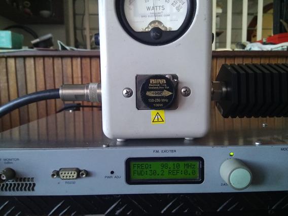 Transmisor / Excitador Fm Rvr Blues 30