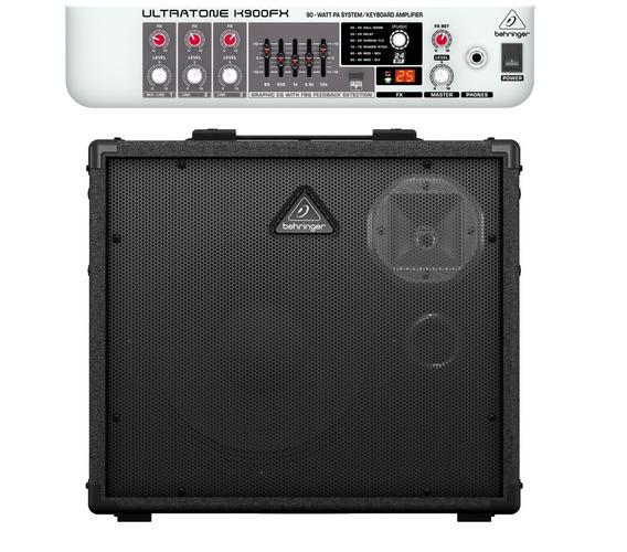 Behringer Ultratone K900fx Amplificador Teclado 90 Watts 3 C