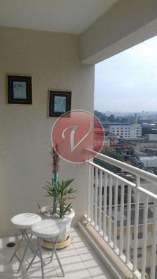 Apartamento Residencial Para Locação, Bairro Jardim, Santo André - Ap6849. - Ap6849