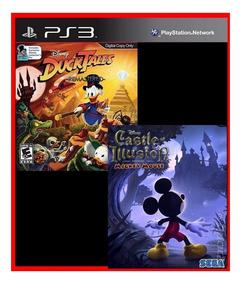 Mickey Castle Of Illusion E Ducktales Remastered Ps3 Cód.psn