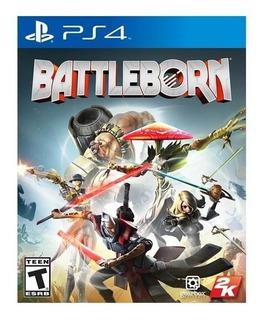 Battleborn Ps4 Juego Físico, Nuevo Y Sellado