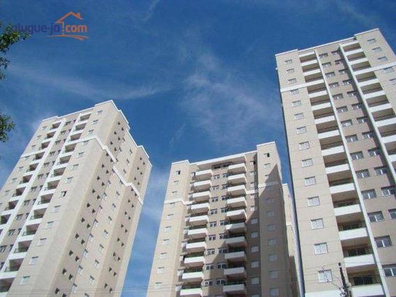 Apartamento Com 2 Dormitórios À Venda, 65 M² Por R$ 380.000 - Palmeiras De São José - São José Dos Campos/sp - Ap7849