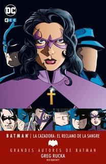 Comic Grandes Autores De Batman: El Reclamo De La Sangre