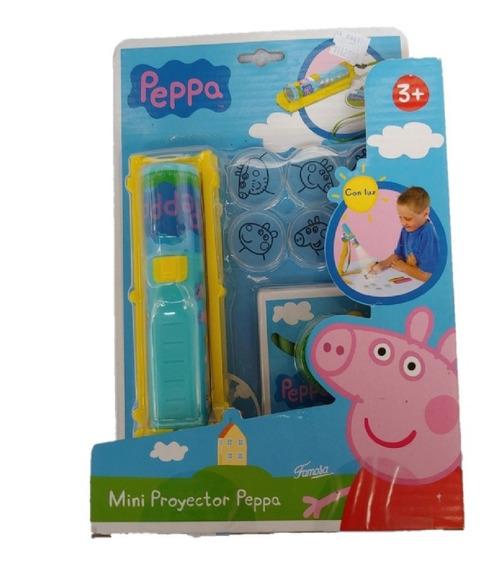 Peppa Pig Mini Proyector Famosa Dibujos Portátil