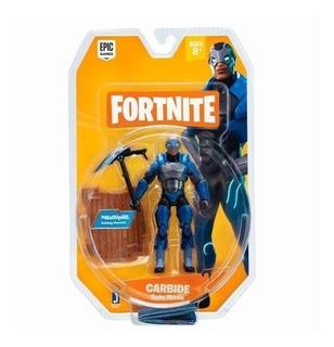 Fortnite Carbide Figura Con Accesorios Original Intek