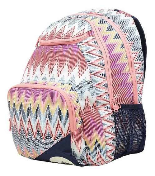 Mochila Roxy Shadow Sweel Pr Imp Marshmallow