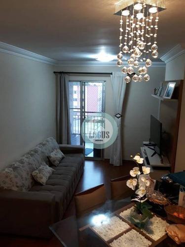 Imagem 1 de 25 de Apartamento Com 2 Dormitórios À Venda, 50 M² Por R$ 255.000,00 - São João Clímaco - São Paulo/sp - Ap1613