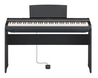 Piano Digital P125 Yamaha Con Adaptador Pa150
