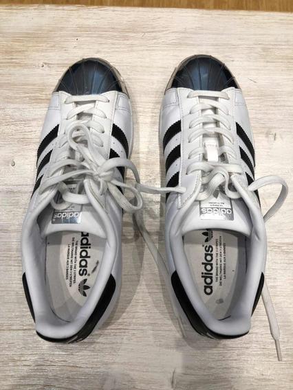 Zapatillas adidas Súper Star Blancas Divinas Importadas