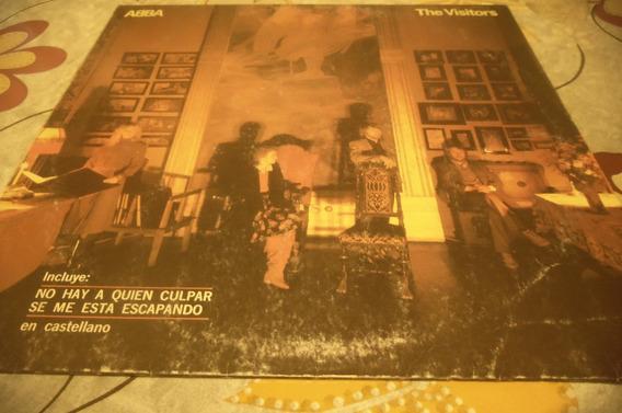 Abba-the Visitors-vinilo En Exelente Estado