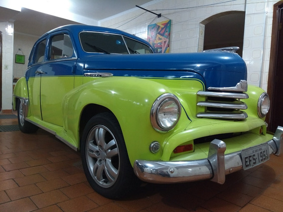Opel Kapitan 1951 - Mec. Opala 6cc Álcool - Ñ Belair, Sinca