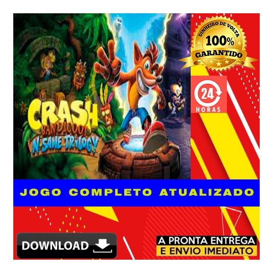 Crash Bandicoot N. Sane Trilogy + Brinde - Pc - Digital