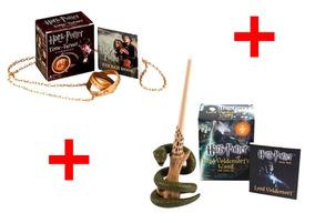 2 Kits Harry Potter Time Turner & Voldemort
