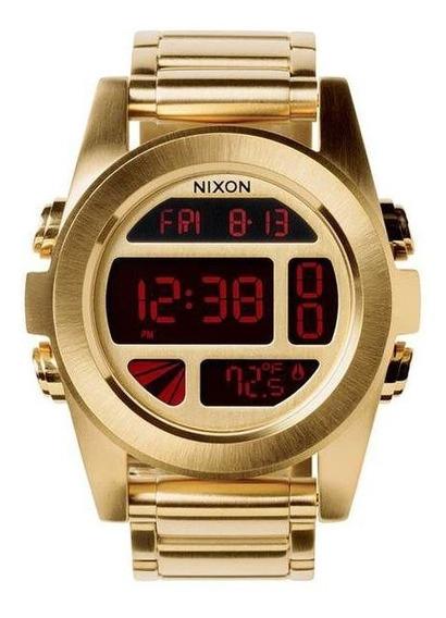 Relogio Nixon Unit Ss A360 502 - Dourado
