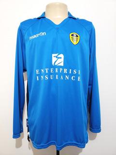 Camisa Futebol Leeds United Inglaterra 2013 Third Macron Gg