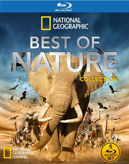 Dvd Box National Geographic, Best Of Nature, Bluray 5 Discos