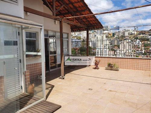 Imagem 1 de 29 de Cobertura Com 3 Dormitórios À Venda, 250 M² Por R$ 850.000,00 - Santa Lúcia - Belo Horizonte/mg - Co0259