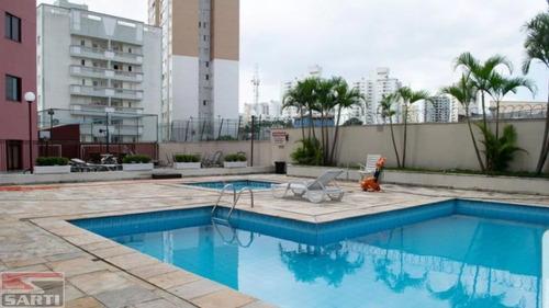 Imagem 1 de 15 de Apartamento Com Sacada - Piscina Aquecida  - St15091