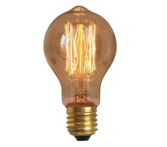 Lâmpada Vintage Retrô Edison Filamento De Carbono - A19