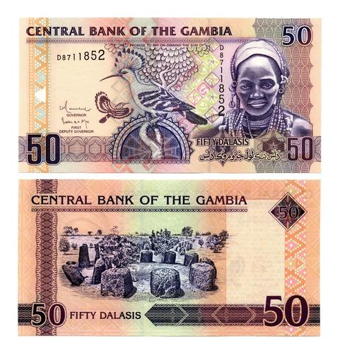 Billete De Gambia 50 Dalasis Numismatic Collection