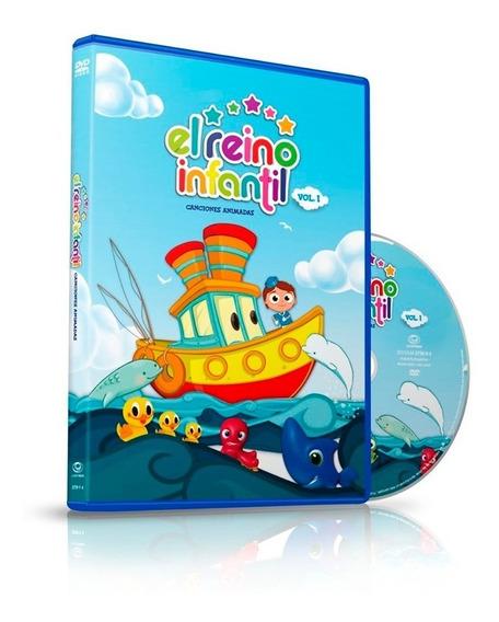 Dvd El Reino Infantil - Canciones Animadas Vol1 - Ya Musica