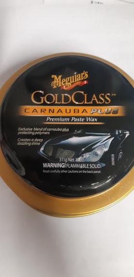 Cera Meguiars Pasta Carnauba Plus Paste Wax Polimeros Brillo