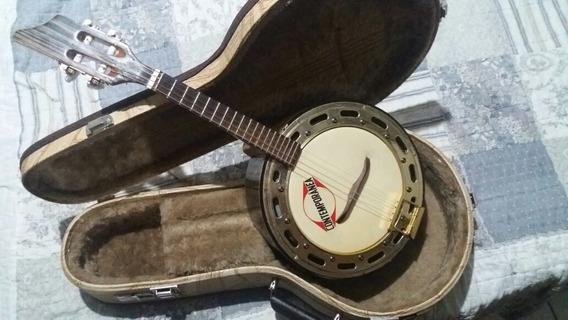 Banjo Elétrico Caixa De 10cm Com Case Térmico