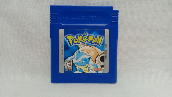 Pokemon Blue Gameboy Color Usado