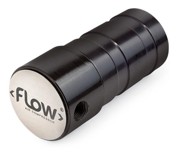 Filtro Flow Suspensão A Ar 1/8 8mm/10mm Preto Gol Quadrado