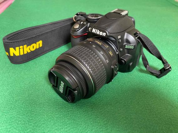 Câmera Nikon D3100 Pouquíssimo Uso
