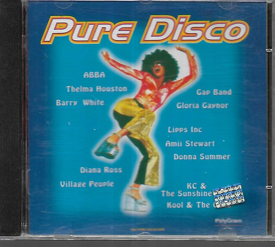 Pure Disco Abba Village People Donna Summer Diana Ross Cd