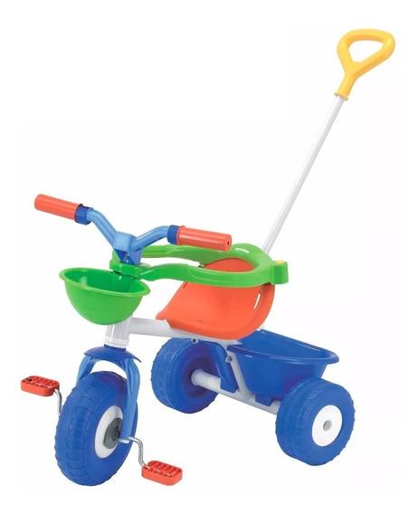 Triciclo Infantil Rondi Metal Azul 3075