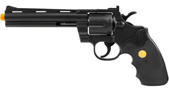 Revolver De Airsoft Spring G36b Preto 6mm - Galaxy