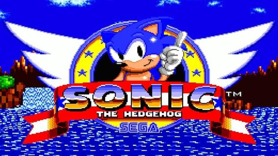 Cartucho (original) Sonic 1 - Mega Drive