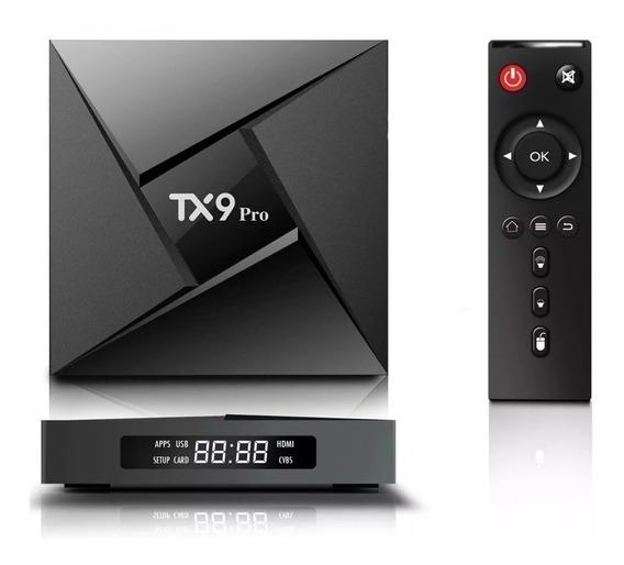 Transforma Tv Smat Tx9 Pro 3 Gb 32gb Rom Octacore Bluetooth