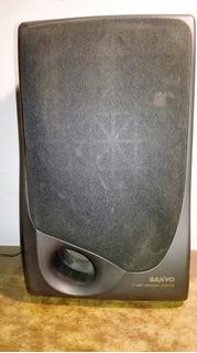 Parlantes Bafles Sanyo 2 Way Speaker System 4 Unidades
