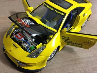 Miniatura Toyota Celica 1:24 (tuning)