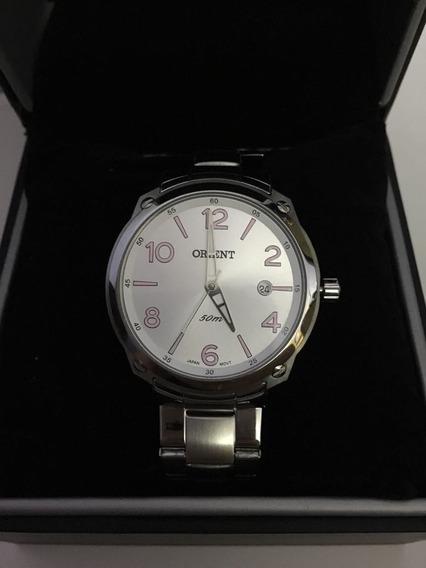 Relógio De Pulso Orient 1074 Prata Feminino Original