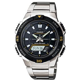 Relógio Casio Original Masculino Tough Solar Aq-s800wd-7evdf
