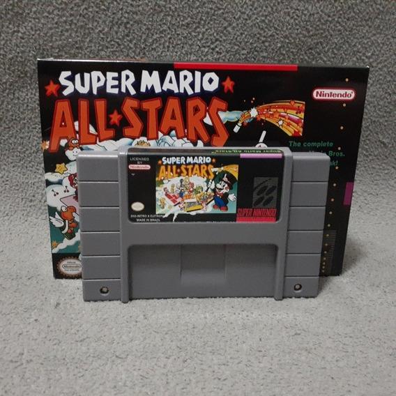 Super Mario All Stars Super Nintendo Snes Com Caixa