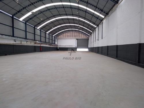 Imagem 1 de 15 de Galpao Industrial - Parque Capuava - Ref: 1263 - V-1263