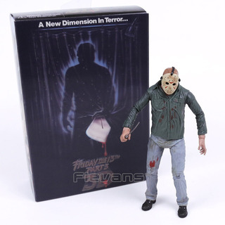 Jason Friday The 13th Viernes 13 3d Neca Ultimate