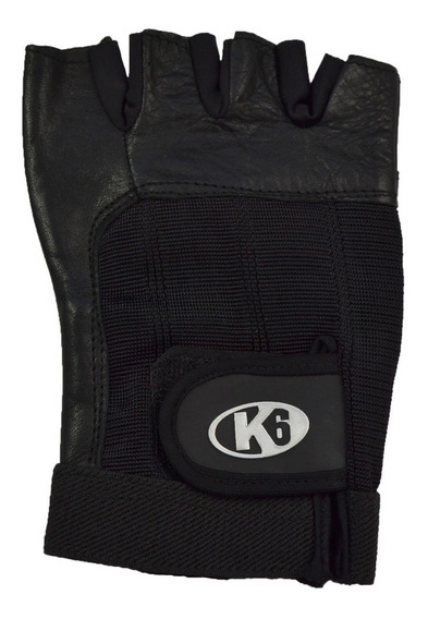 Guantes Gym Pesas Gimnasio Crossfit Unisex Strong K6 Fitness