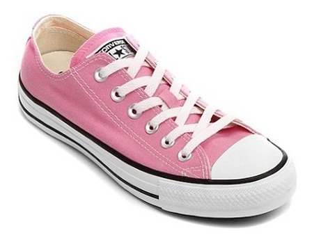 Tenis Converse All Star Ct Core Hi Rosa Chiclete