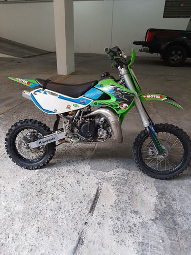 Moto Kawasaki  Kx 65 Motocross Mini Moto