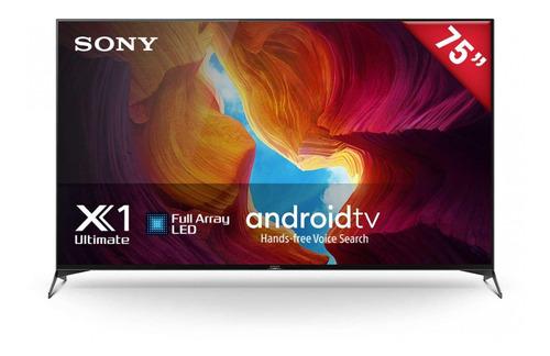 Imagen 1 de 3 de Pantalla Led Sony 75  Ultra Hd 4k Smart Tv Xbr-75x950h/a