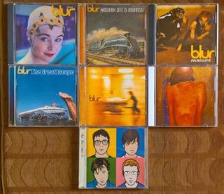 Lote Discografia De Blur 7 Cds Como Nuevos! Oasis Gorillaz